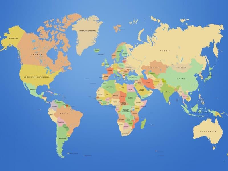 Dünya'da En Çok Ziyaret Edilen 10 Ülke