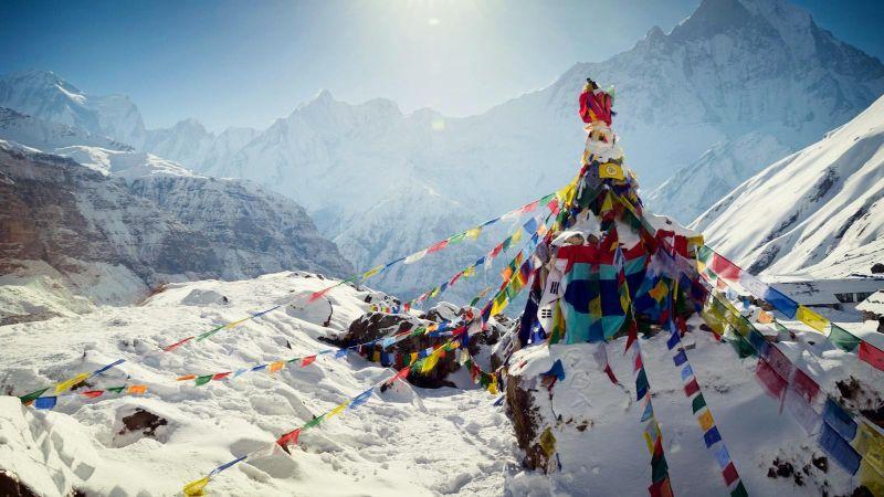 Everest Base Kampı, Nepal