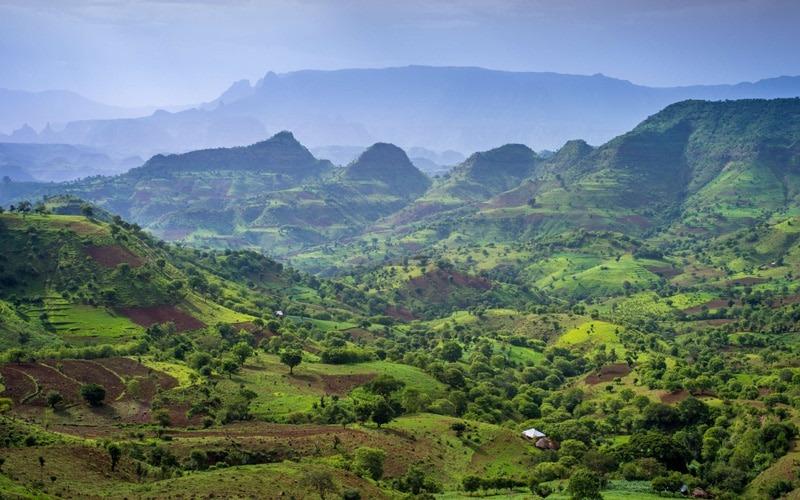 Simien Mountains Doğa Parkı, Etiyopya