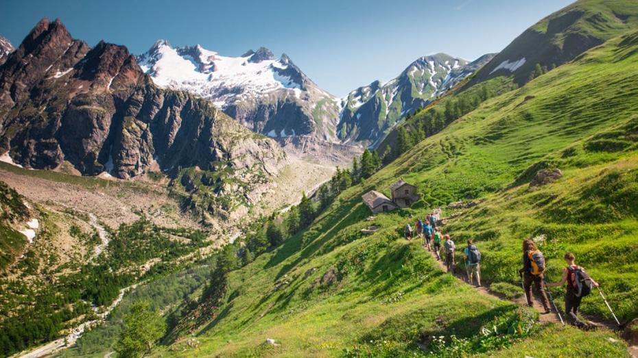 Tour de Mont Blanc, Fransa