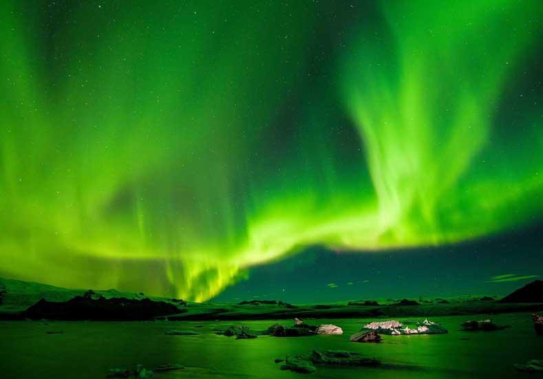 Kuzey Işıklarının İzlenebileceği Yerler