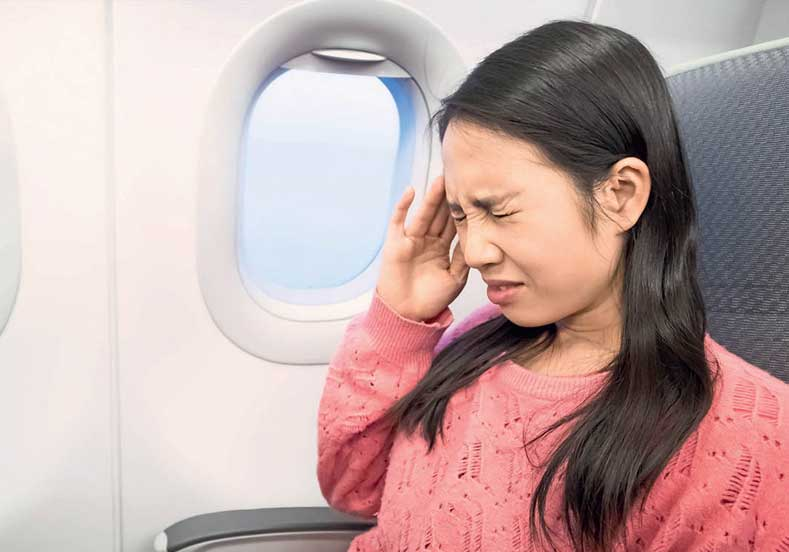 Uçuşta Burun ve Kulak Sorunları