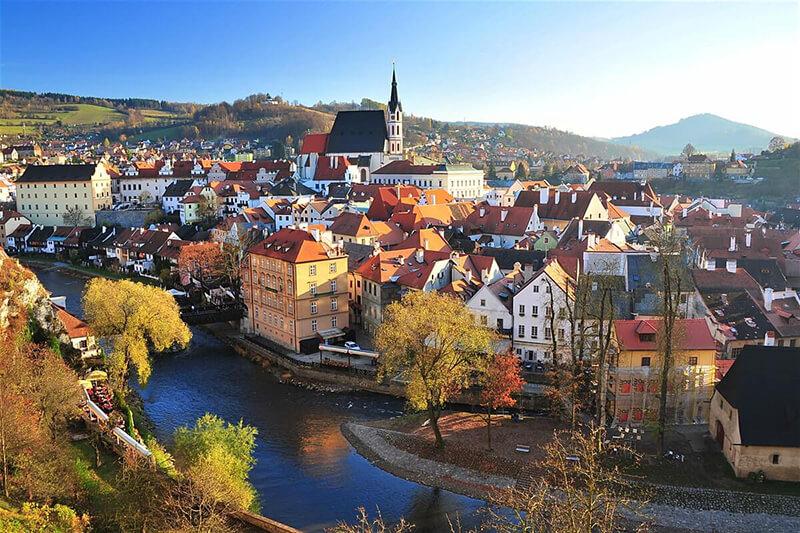 Cesky Krumlov - Çek Cumhuriyeti