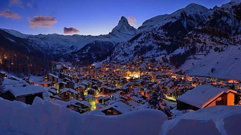 Matterhon Dağı, İsviçre