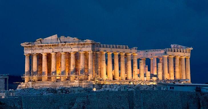 Akropolis, Yunanistan
