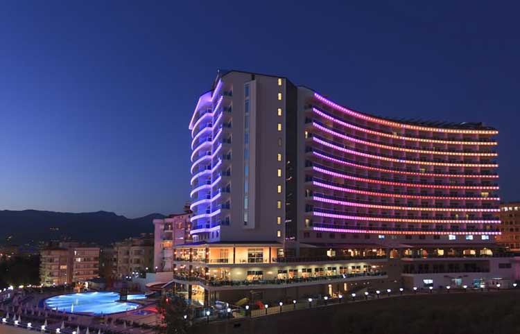 Alanya Aile Otelleri, The Diamod Hill Resort & Spa