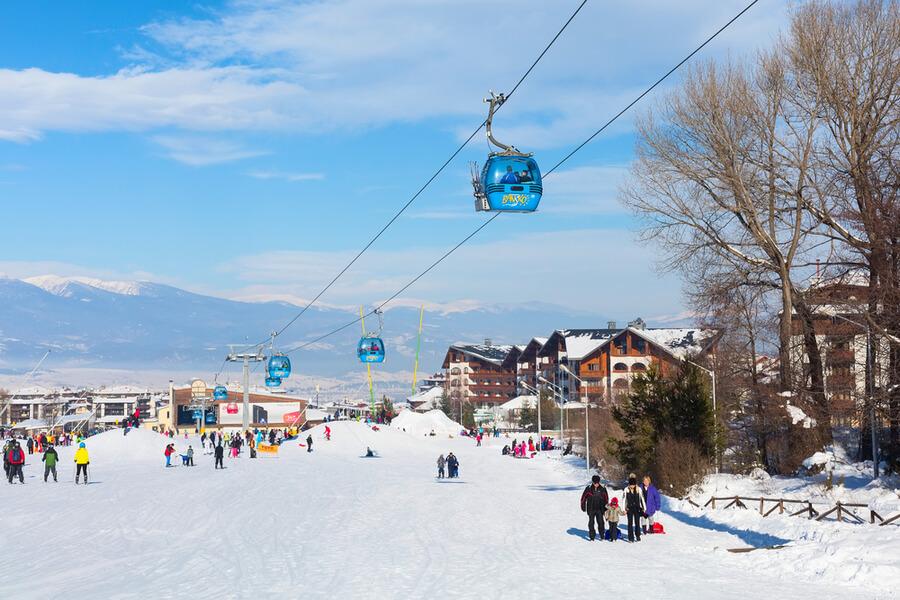 Bansko Kayak Merkezi / Bulgaristan
