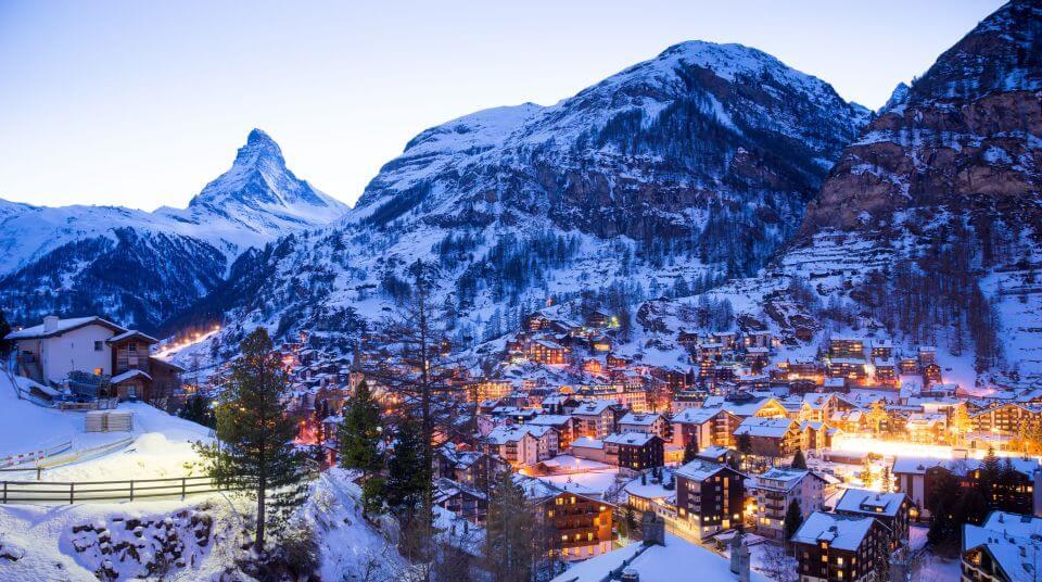 Zermatt Kayak Merkezi - İsviçre